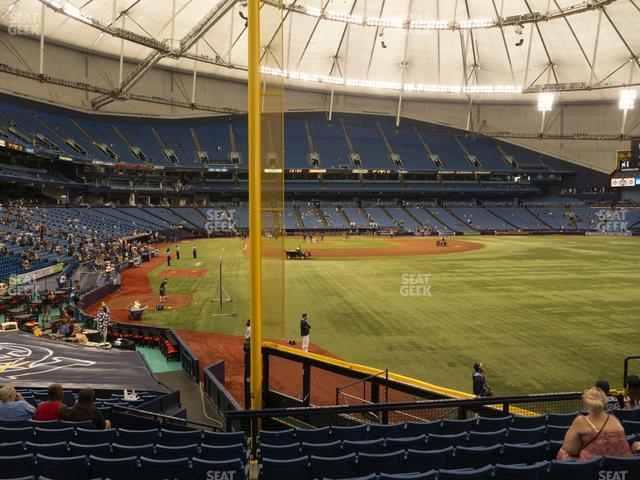 Tropicana Field Section 140 view