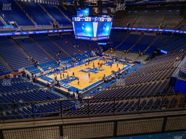Rupp Arena Section 218 view