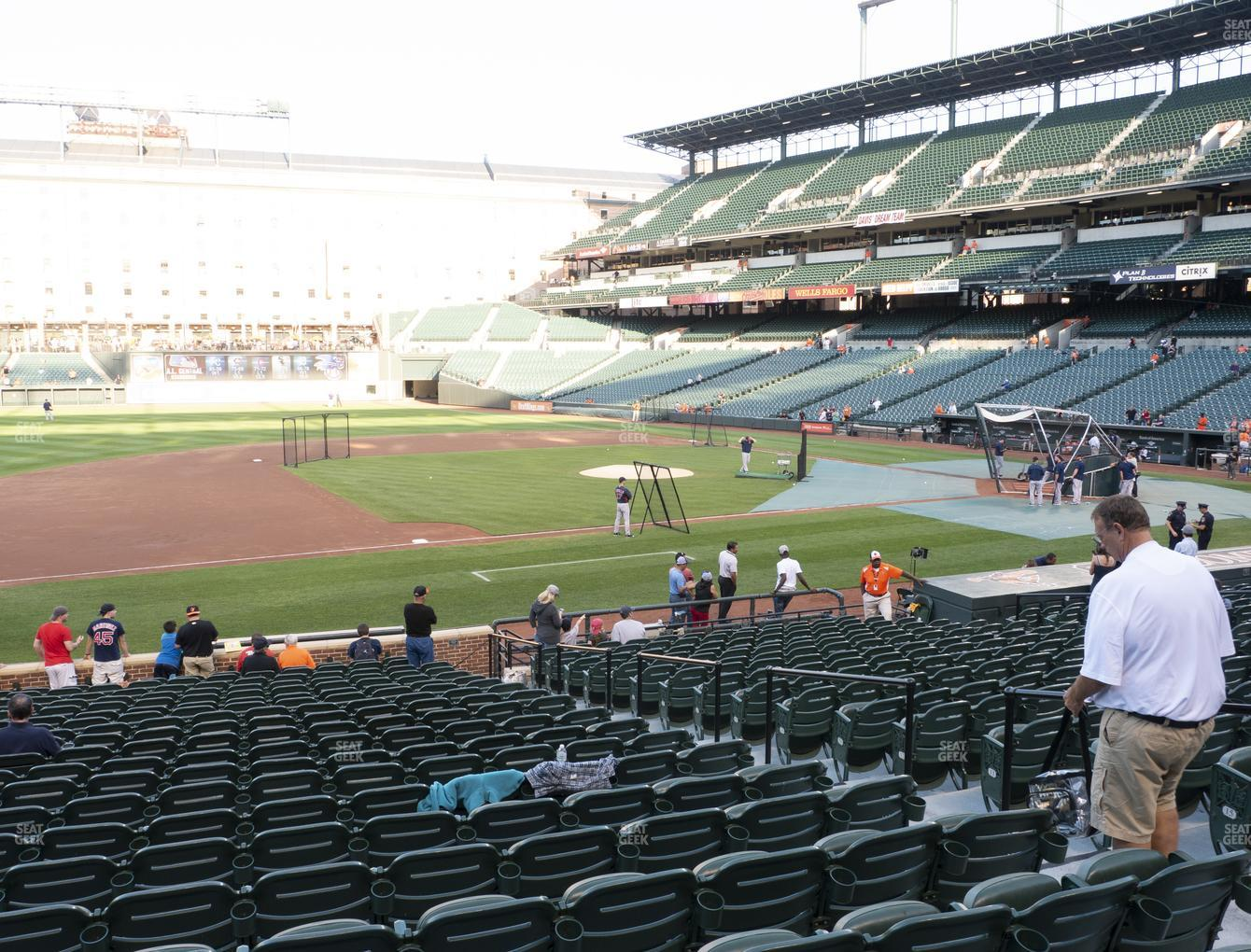 Concert at Oriole Park at Camden Yards Section 56 View