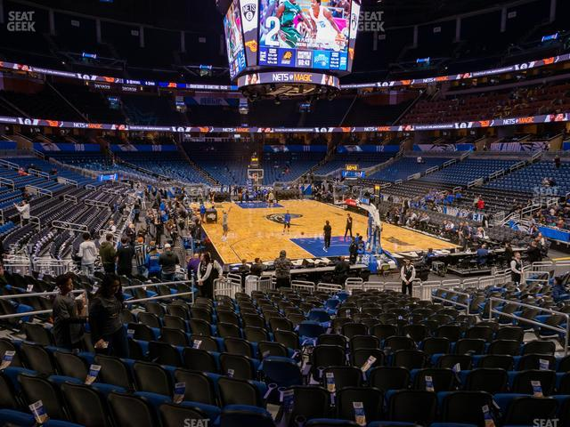 Amway Center Section 102 view