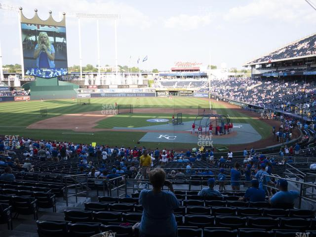 Kauffman Stadium Section 224 view