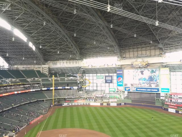 Miller Park Section 416 view