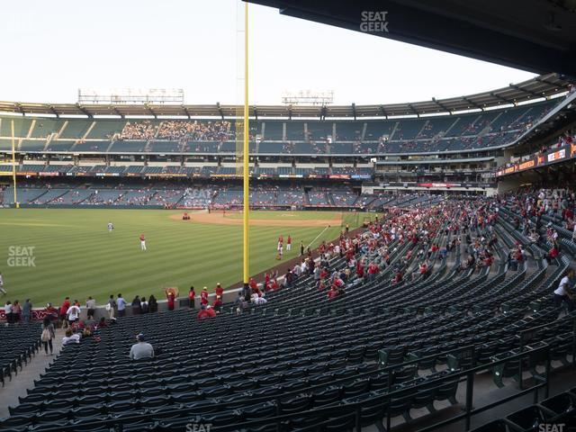 Angel Stadium of Anaheim Section 202 view