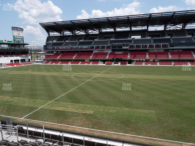 Audi Field Section 126 view