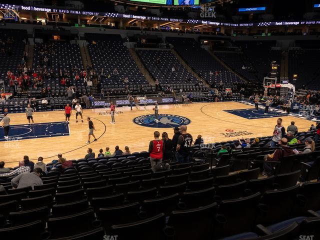 Target Center Section 112 view