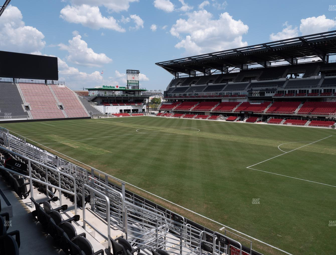 D.C. United at Audi Field Section 123 View