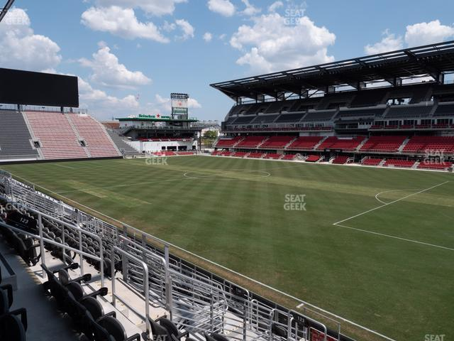 Audi Field Section 123 view