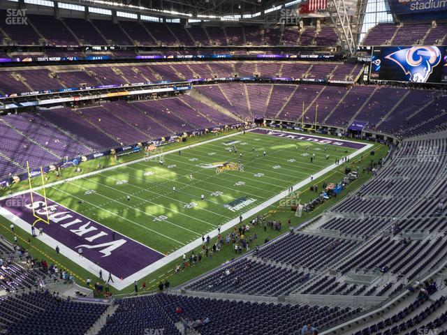 U.S. Bank Stadium Section 349 view