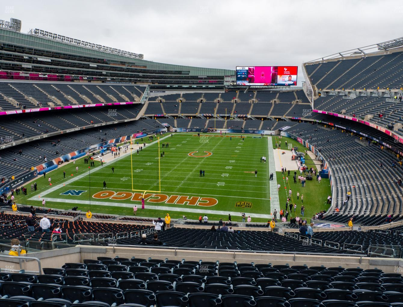 Chicago Bears at Soldier Field Section 350 View