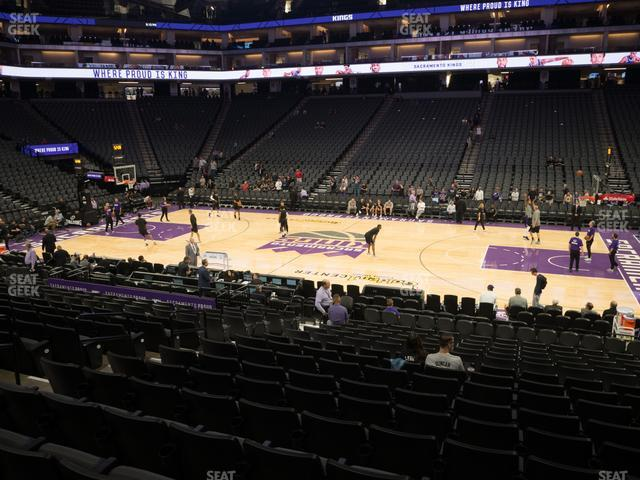 Golden 1 Center Section 106 view