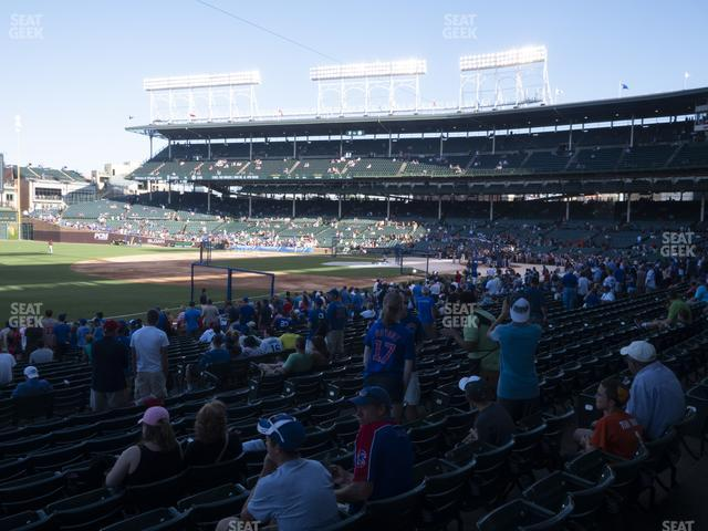 Wrigley Field Section 106 view