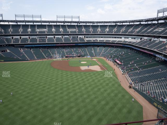 Globe Life Park Section 303 view