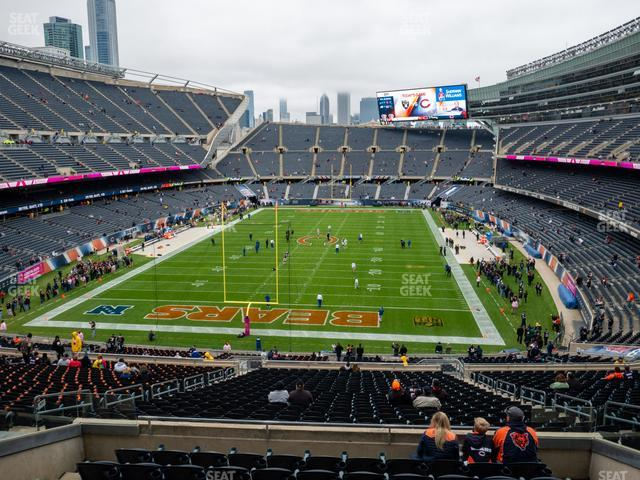 Soldier Field Section 321 view