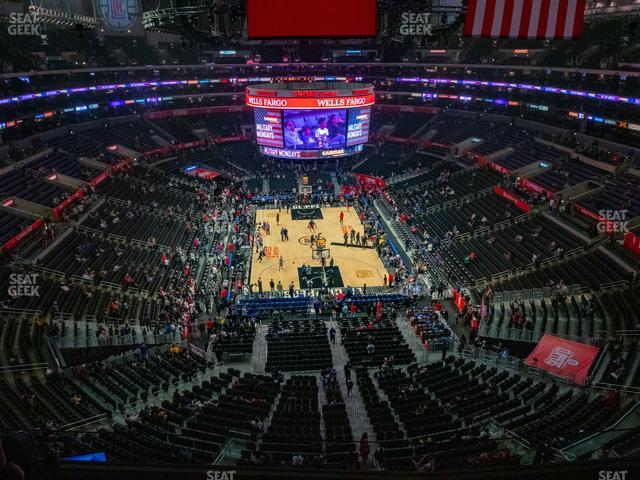 Staples Center Section 327 view