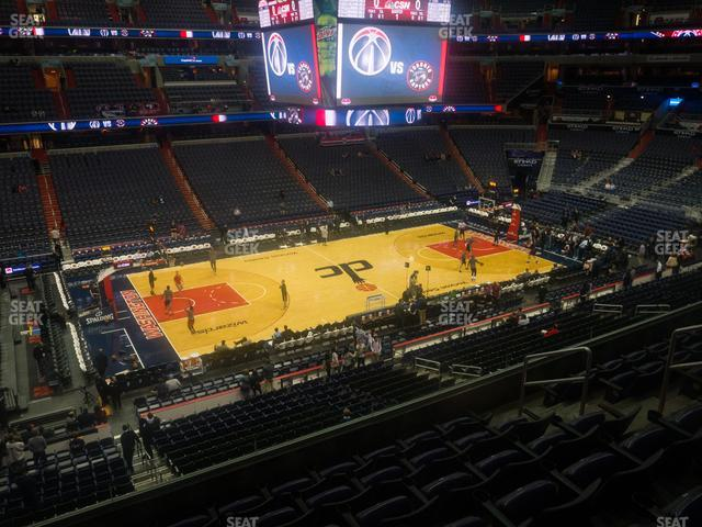 Capital One Arena Section 228 view