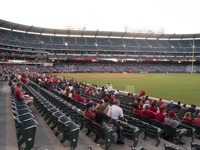 Angel Stadium of Anaheim Section 131 view