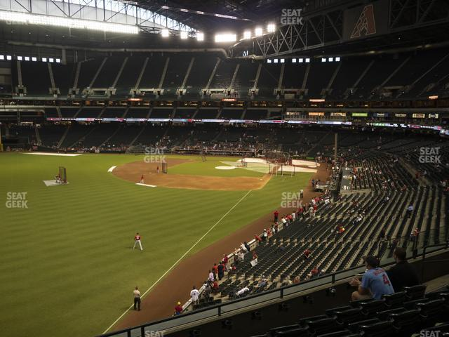 Chase Field Section 221 view