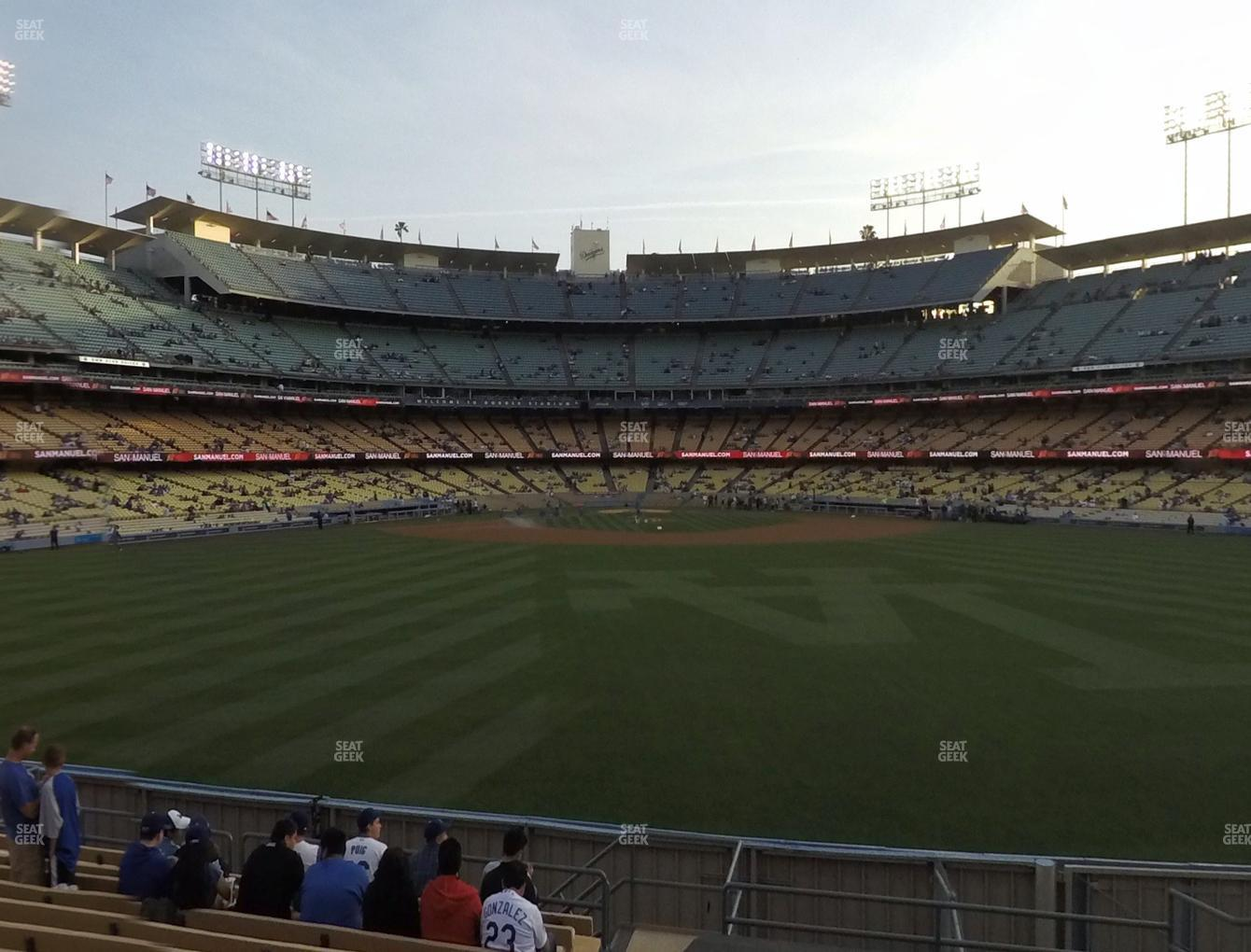 Dodger Stadium Right Field Pavilion 316 Seat Views Seatgeek