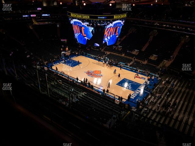Madison Square Garden Section 315 view