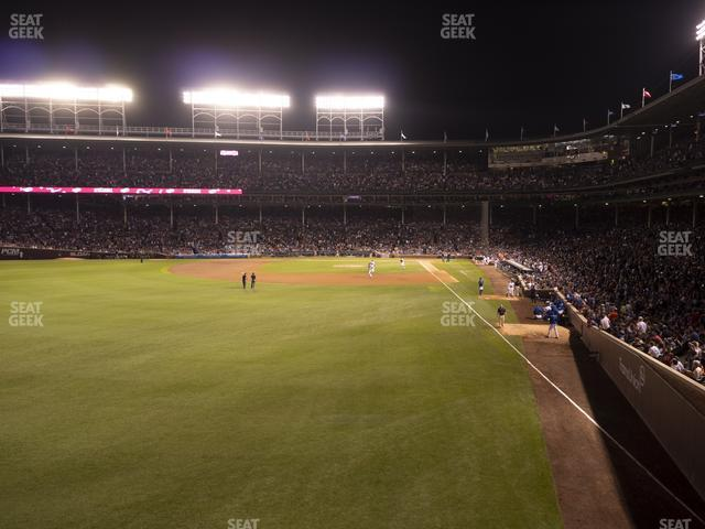 Wrigley Field Budweiser Bleachers 501 view