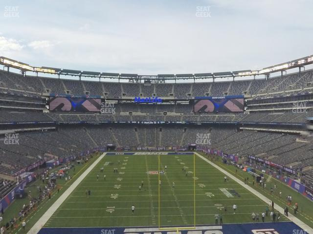 MetLife Stadium Section 227 A view