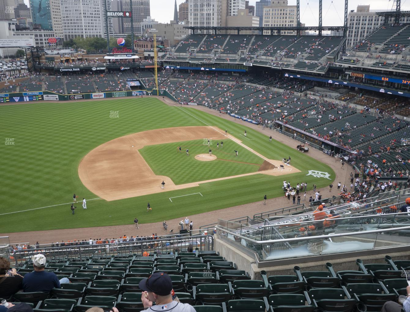 Detroit Tigers at Comerica Park Section 336 View