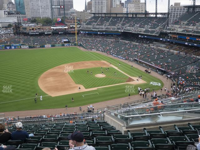 Comerica Park Section 336 view