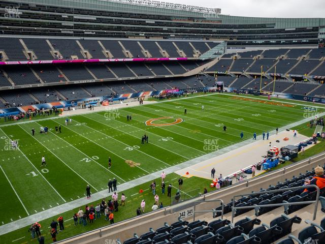 Soldier Field Section 342 view