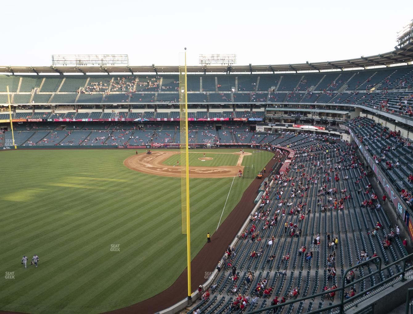 Los Angeles Angels at Angel Stadium of Anaheim Section 402 View
