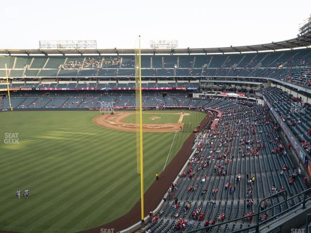 Angel Stadium of Anaheim Section 402 view
