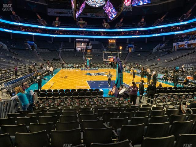 Spectrum Center Section 110 view