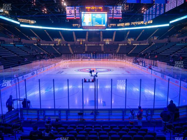 Nassau Veterans Memorial Coliseum Section 124 view