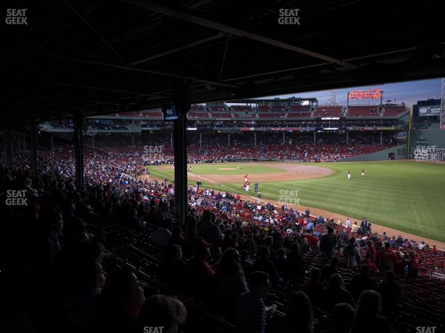 Fenway Park Outfield Grandstand 7 view