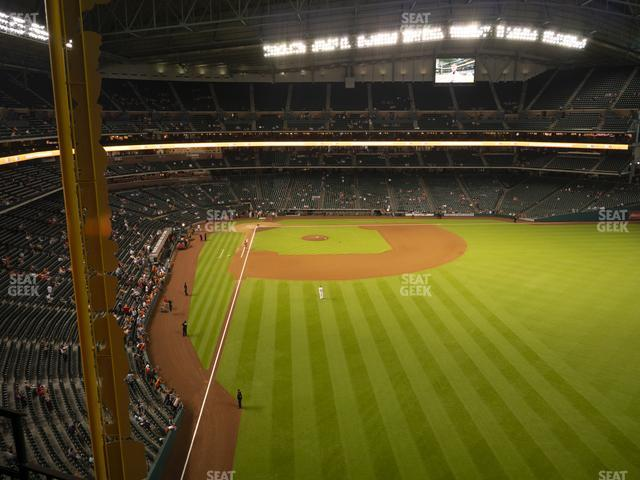 Minute Maid Park Section 338 view