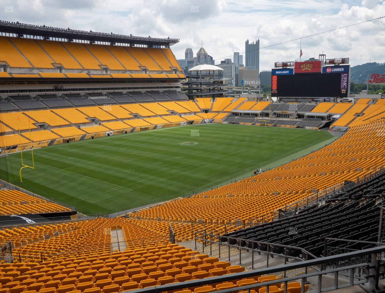 Pittsburgh Steelers at Heinz Field North Club 015 View