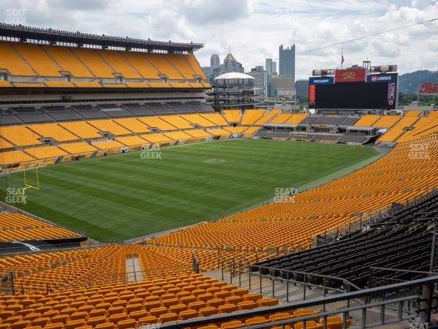 Heinz Field North Club 015 view