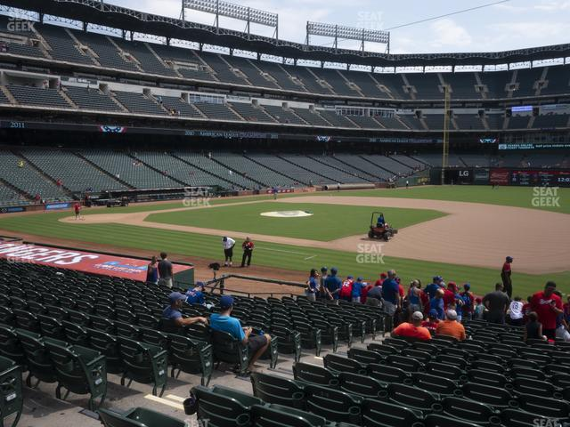 Globe Life Park Section 36 view