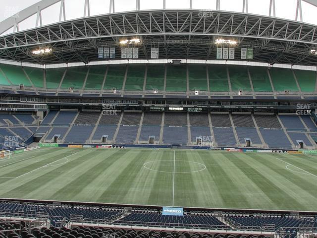 CenturyLink Field Section Club 209 view