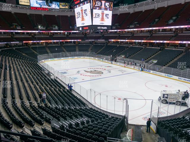 Honda Center Section 316 view
