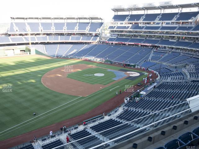 Nationals Park Section 304 view