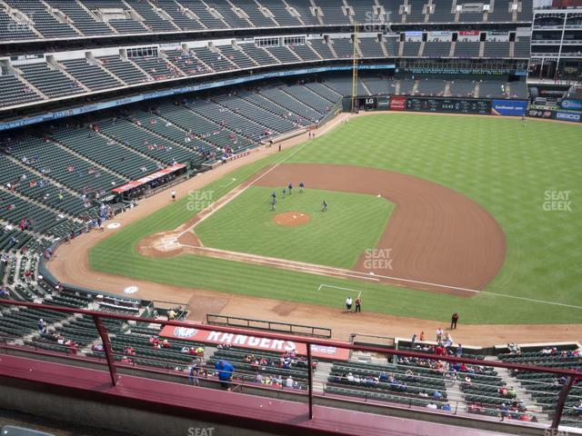Globe Life Park Section 334 view