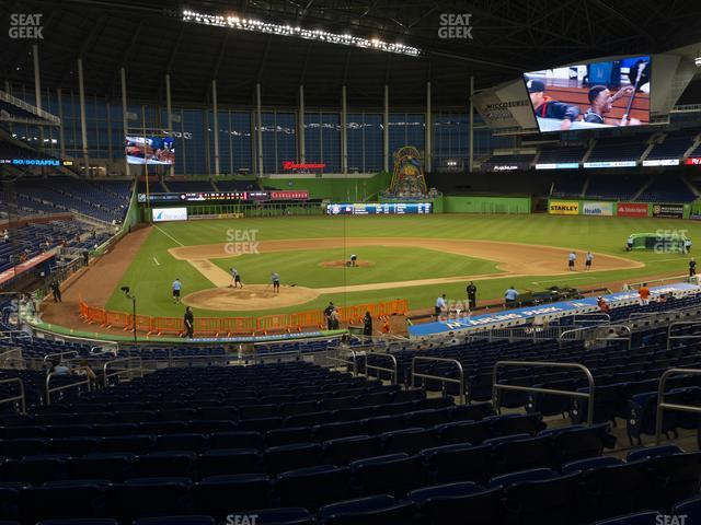 Marlins Park Section 12 view