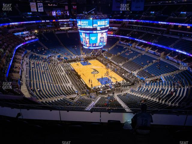 Amway Center Section 219 view
