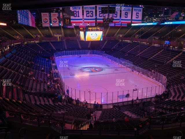 Nassau Veterans Memorial Coliseum Section 215 view