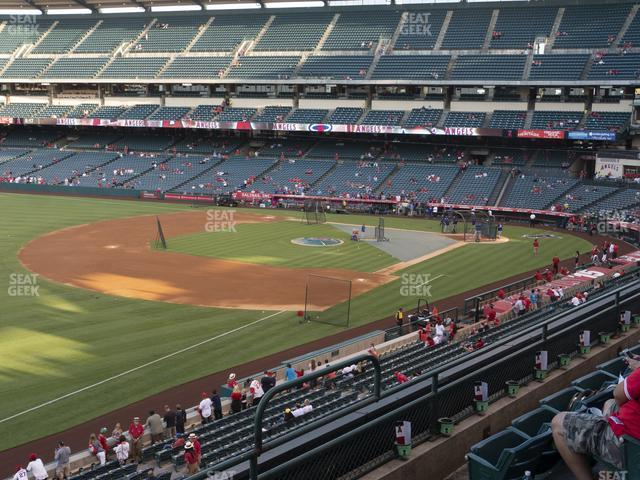 Angel Stadium of Anaheim Section 309 view