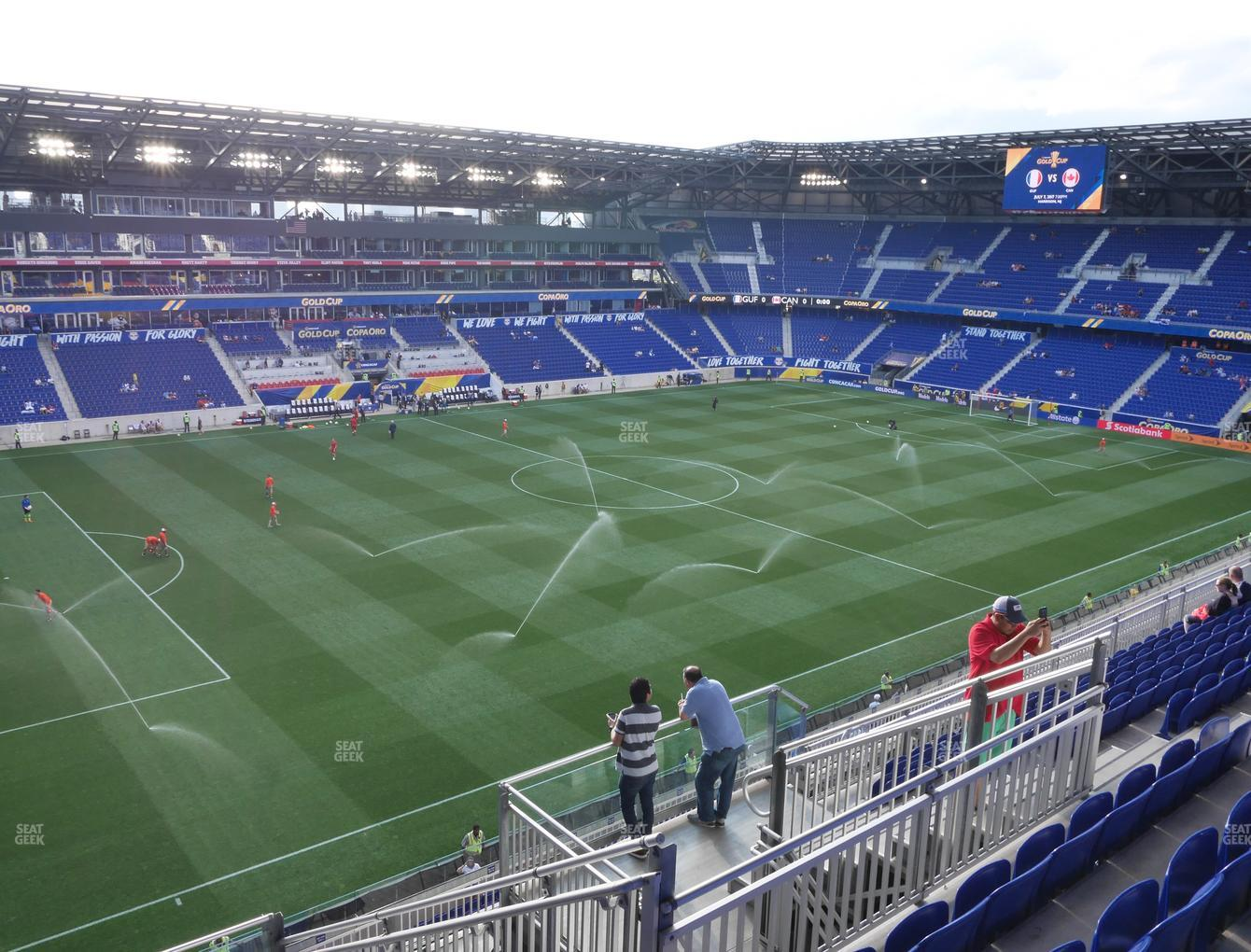 New York Red Bulls at Red Bull Arena Section 229 View
