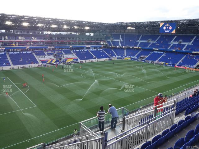 Red Bull Arena Section 229 view