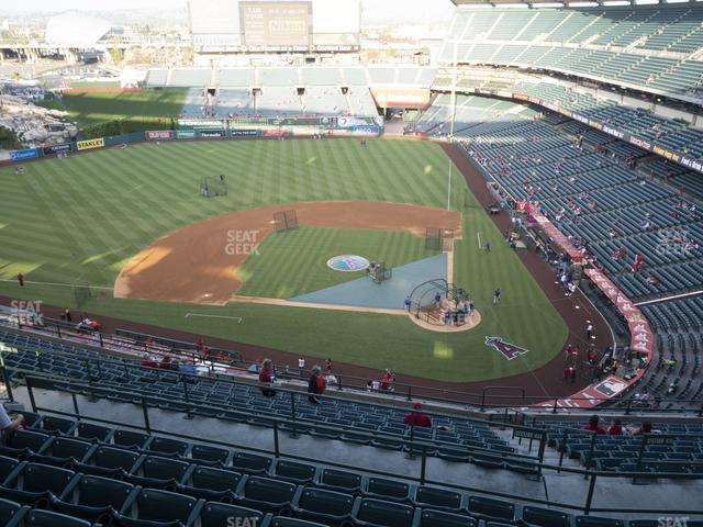 Angel Stadium of Anaheim Section 516 view