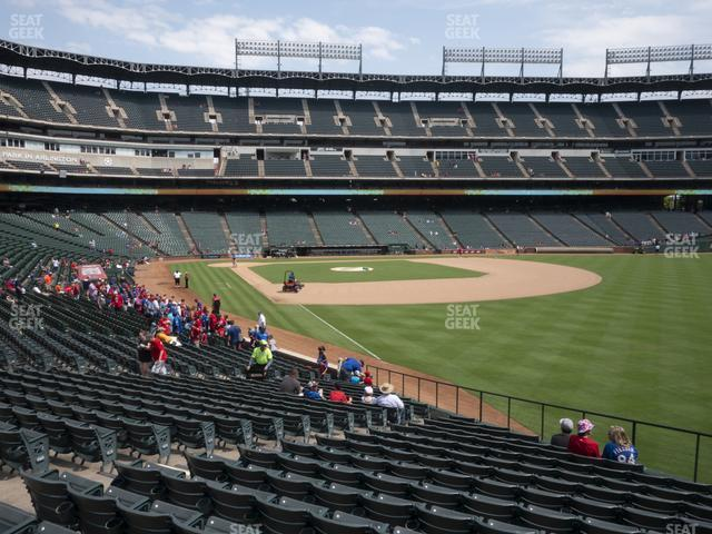 Globe Life Park Section 41 view