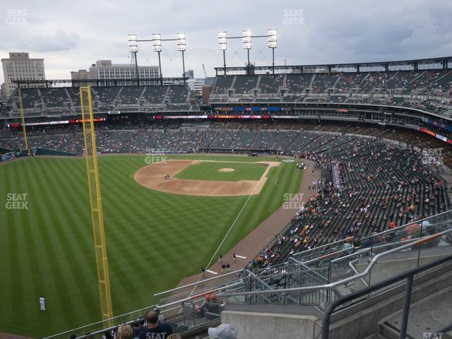 Comerica Park Section 345 view